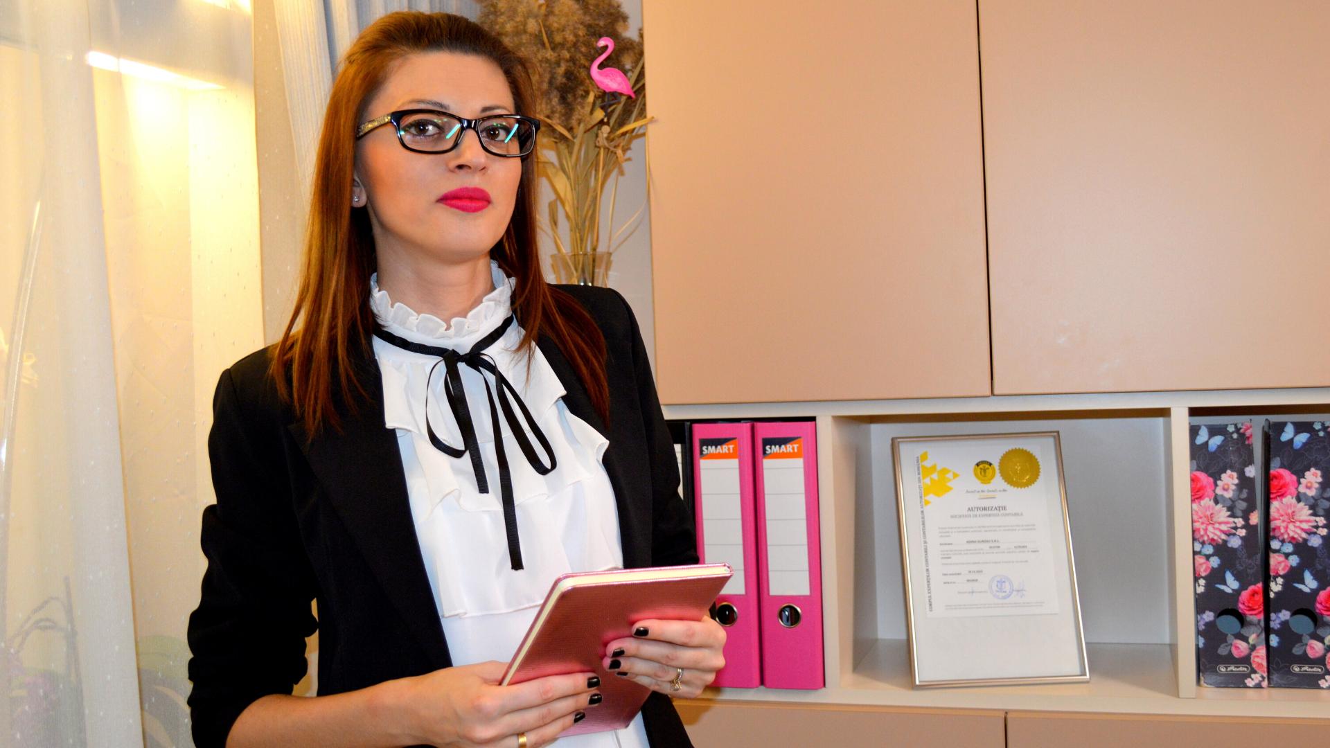 Interviu cu Adina Gurzău, expert contabil la ContaOradea